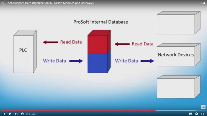 Data Organization in ProSoft Modules and Gateways - ProSoft
