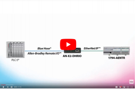 W02 2019 - Setup Video: Connect your Allen-Bradley Remote I/O PLC to EtherNet/IP FLEX adapters