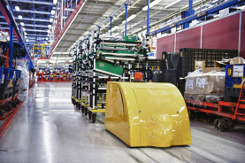 AGVs and smart conveyors are major investments, and the need to show ROI is expected at most companies. This means that real-time communications between the equipment is critical to ensure their smooth operation.