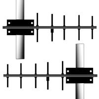 A908NJ DY A911NJ 900MHz Yagi Antennas