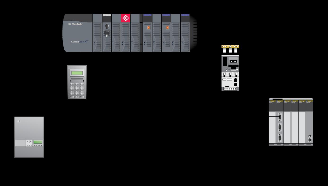 Modbus Master/Slave Enhanced Network Interface Module for
