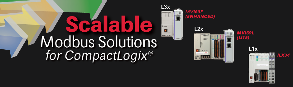 Scalable Modbus® Solutions for CompactLogix™